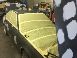 e34 m5 paint prep