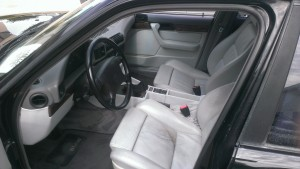 e34 m5 worn interior
