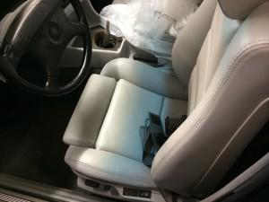 e34 m5 seat restoration
